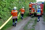 Waldbrand-Ausbreitung verhindern